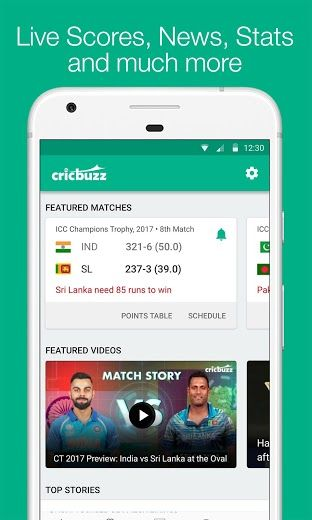 Cricbuzz APK Download - Android Live Cricket Scores & News