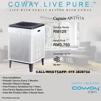 Coway Water Purifier Filter Villaem Rm125 Month 5years Services Water Purifier Purifier Dispenser Design