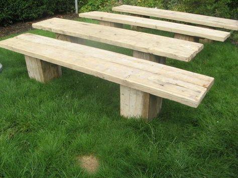 Astonishing Garden Furniture Made From Reclaimed Timbers Batons Etc Inzonedesignstudio Interior Chair Design Inzonedesignstudiocom