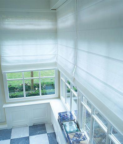 Raffrollo Küche Raffgardinen Weiß Gardinen Wohnzimmer Fenster Rollo Modern