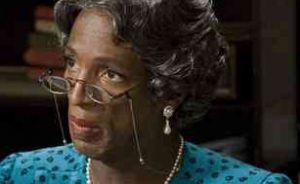 """This is what happens when Bernice Jenkins gets distracted in the middle of delivering her church announcements. It's called """"old lady syndrome."""""""