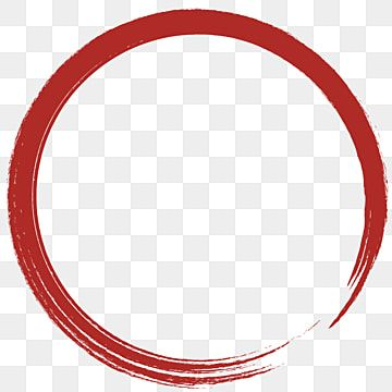 Red Clipart Hand Painted Thick Line Burrs Red Circle Strokes Circle Circles Element Png Material Hand Painted Red Circl Circle Clipart Circle Light Xmas Frames