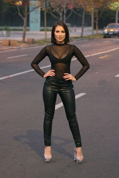 20 Outfits With Sheer Tops glamsugar.com