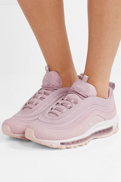 Nike Air Max 97 Leather Suede And Mesh Sneakers Net A Porter Com Nike Air Max 97 Nike Air Max Air Max 97
