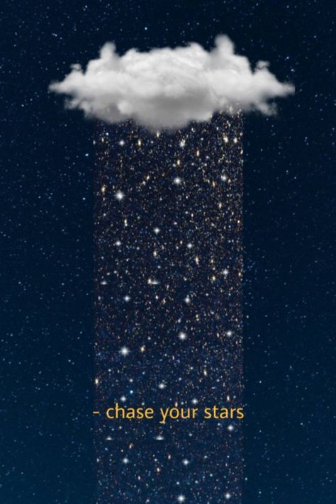 Chase your dreams and stars. Download this free wallpaper to use on its own or add your own effects!