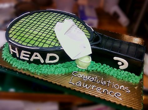 H33 Dan's Tennis Cake by donbuciak, via Flickr