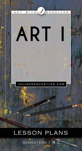 Art 1  Lesson plans, presentations, examples, worksheets