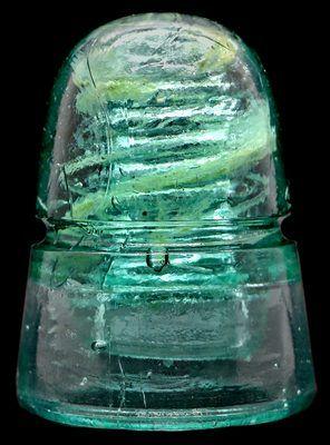 Light Aqua by Brookfield CD 121 Am Tel /& Tel Co Glass Insulator