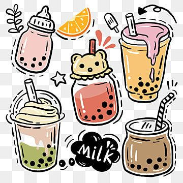 Pearl Milk Tea Ice Cream Cup Pearl Milk Tea Straw Png Transparent Clipart Image And Psd File For Free Download In 2021 Milk Tea Pearl Tea Tea Illustration