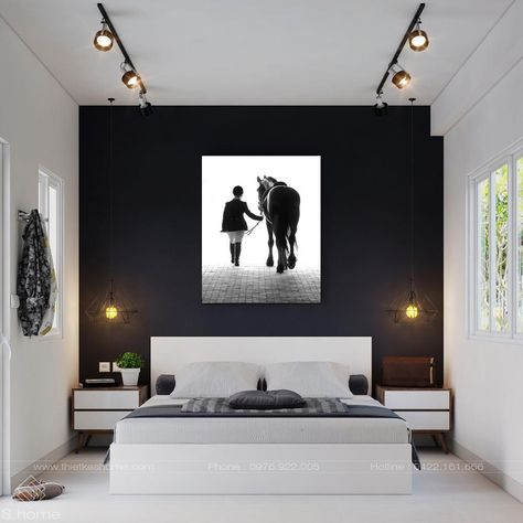 A Girl And Her Horse by Colossal Images Canvas Wall Art 54 in. x 36 in