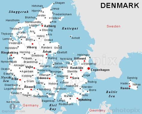 Denmark I 2020 Arhus Karta
