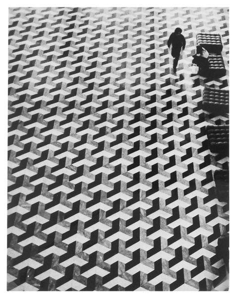 twa airport lounge geometric floor