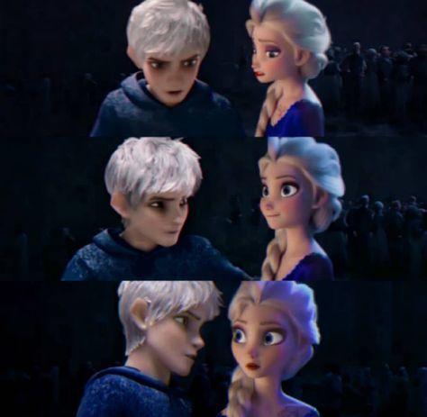 Elsa a Jack Frost