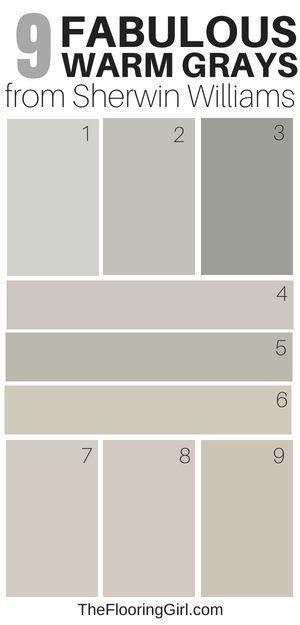 9 Amazing Warm Gray Paint Shades From Sherwin Williams Warm Grey
