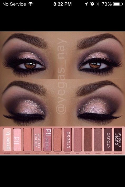 Naked 3 Tutorial Night Look, not so heavy on the bottom though. That's too much
