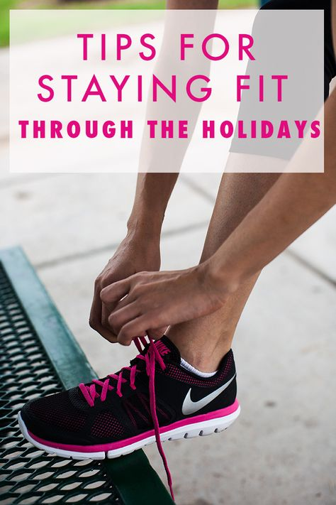 Tips for Staying Fit Through the Holidays