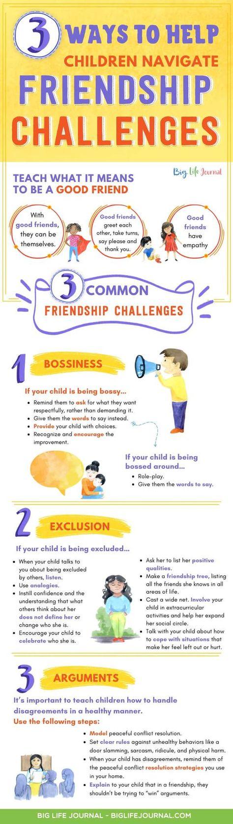 3 Ways to Help Children Navigate Friendship Challenges