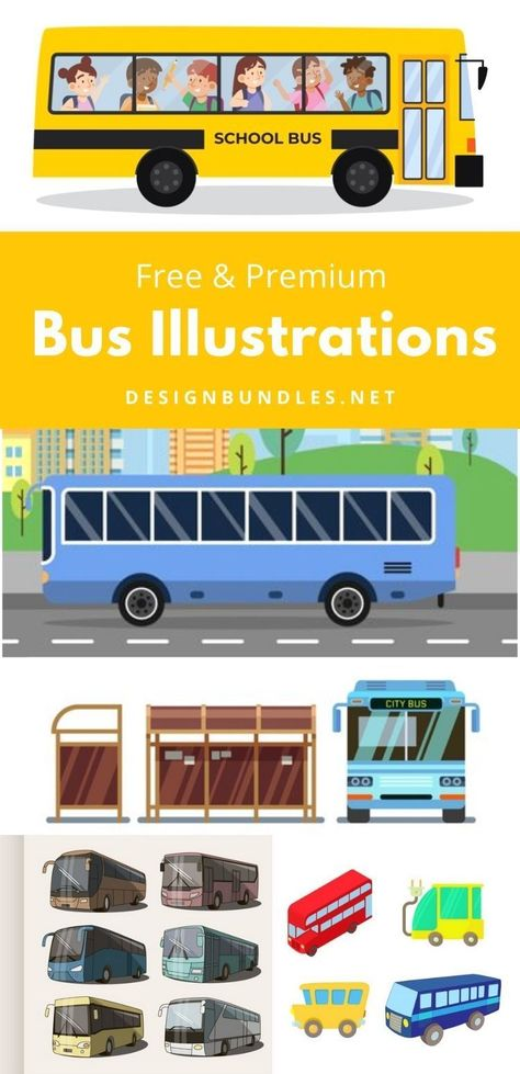 Bus Illustrations