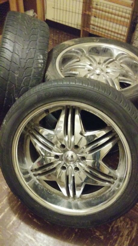 22 inch rims and tires for Sale in Yakima, WA | Wayne's