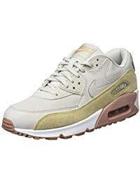 Nike Damen Air Max 90 Premium MeshLeder Sneaker #schuhe