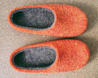 SALE 25% Felt slippers/ Wool slippers