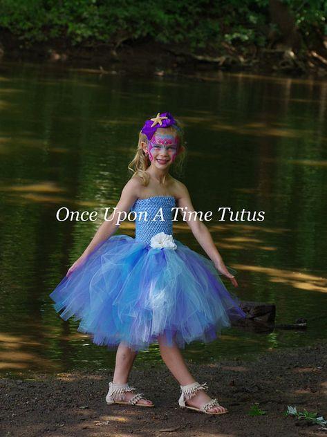 6 12 Months 2t 3t 4t 5t 6 7 8 10 Halloween Costume Clothing, Shoes & Accessories Lavender Mermaid Tutu Dress
