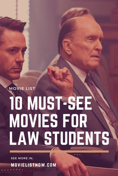 10 Must-See Movies for Law Students - Page 3 of 3 - Movie List Now