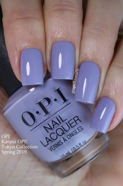 Opi Tokyo Collection Spring 2019 Swatches And Review With Images