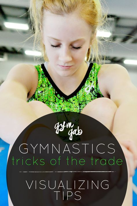 Visualization is a powerful tool, especially for gymnasts. Learn more on the Gym Gab Blog.