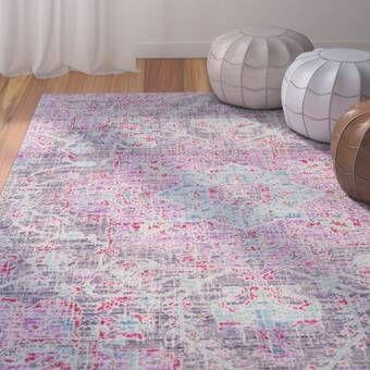 Glasser Oriental Multicolor Area Rug In 2020 Lavender Area Rug Area Rugs Purple Area Rugs