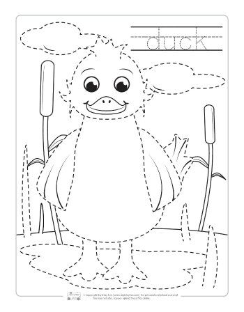 Farm Animals Tracing Coloring Pages Farm Animal Coloring Pages Farm Animals Preschool Farm Animal Crafts Animal tracing for kindergarten