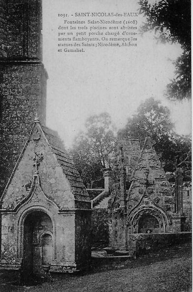 Fontaine Saint Nicodeme A Plumeliau Bieuzy Cartes Postales