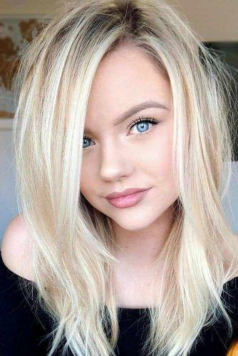 20 Hair Styles For A Blonde Hair Blue Eyes Girl Light Blonde