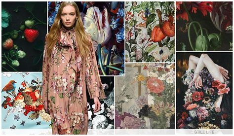 Womens key graphics F/W 2016-17, Still Life