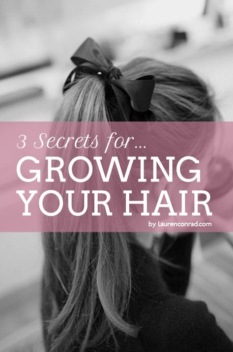 Growing your hair faster