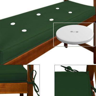 Coussin pour banc Vert - Impermeable - meuble mobilier de ...