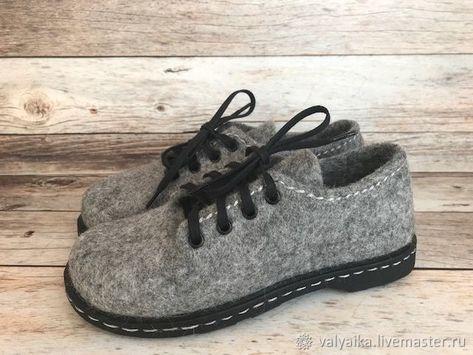 511379133c08d Туфли валяные - купить или заказать в интернет-магазине на Ярмарке Мастеров  | Туфли валяные