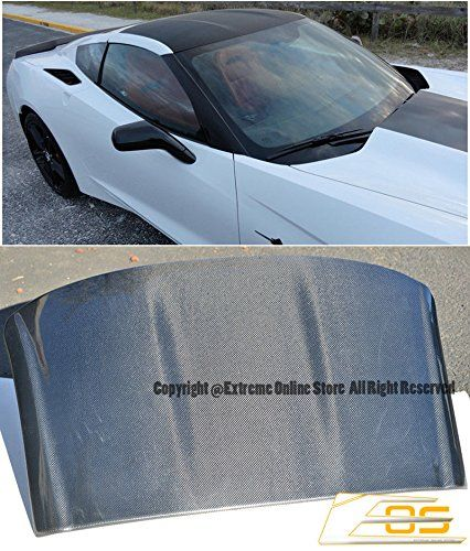 Amazon Com Oem Factory Style Carbon Fiber Removable Top Roof Panel Cover Replacement For 2014 208 Chevrol Chevrolet Corvette C7 Corvette C7 Chevrolet Corvette
