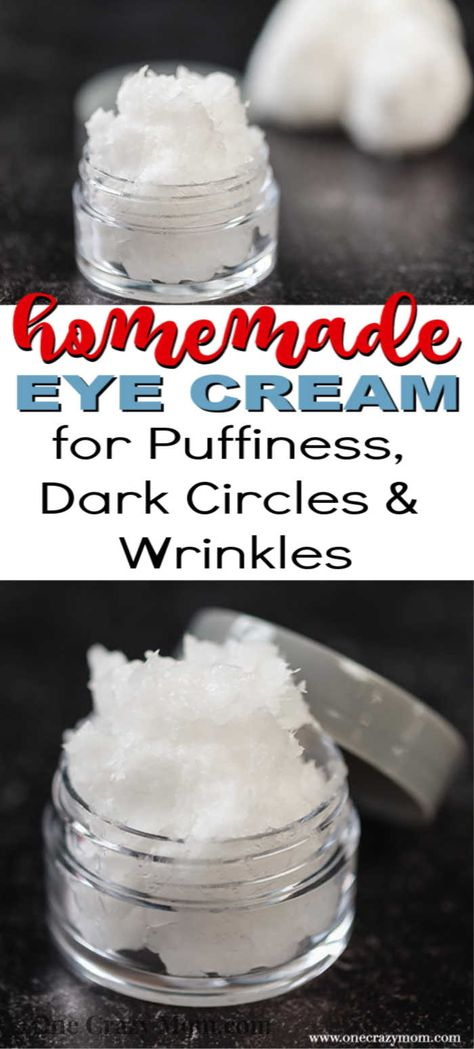 DIY Under Eye Cream - easy homemade eye cream - - DIY Eye Cream is easy to make and only 2 ingredients needed. Homemade eye cream rejuvenates the skin and is all natural for the best natural eye cream diy. Homemade Shampoo, Homemade Skin Care, Diy Skin Care, Homemade Beauty, Homemade Facials, Homemade Eye Creams, Best Natural Eye Cream, Best Eye Cream, Natural Eyes