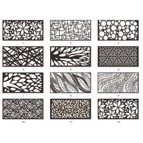 Outdoor Fence Wall Decor