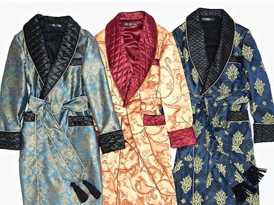 Dressing Gowns Vintage Paisley Robes