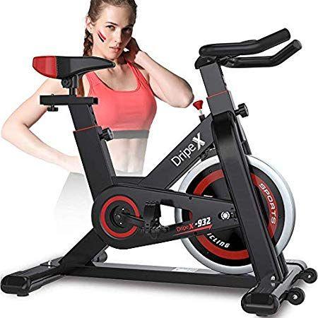 Dripex Upright Exercise Bikes Indoor Studio Cycles Studio