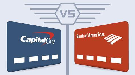 capital one credit card or bank of america займ на карту от частного лица украина