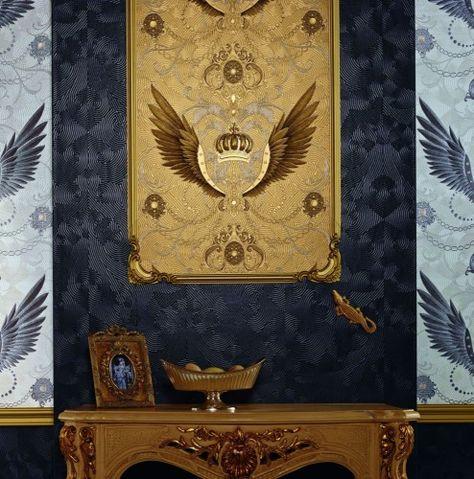 Barock Ornament Tapeten Gunstig Kaufen Barock Tapete Barock Tapeten