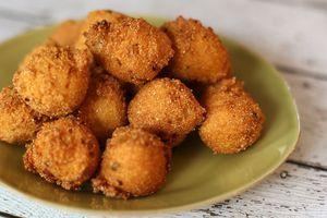 Vegan Hush Puppies Recipe Recipe Hush Puppies Recipe Catfish Recipes Recipes