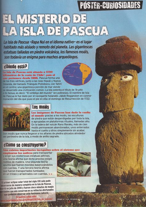 #Isla de Pascua #Chile #Easter Island #South America