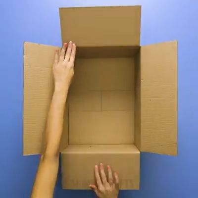 Think outside the box with these cardboard crafts.