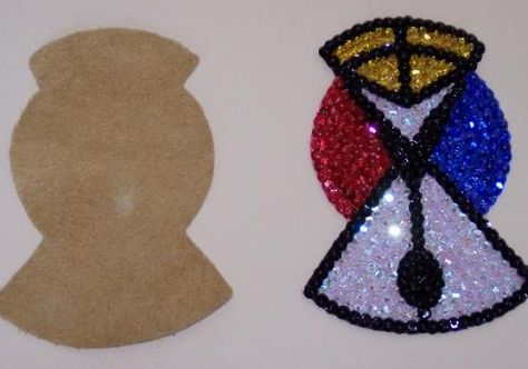 How to add sequins to a Pow Wow outfit