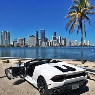 Lamborghini in Miami😝..#worldofbillionaires #miami #usa ...