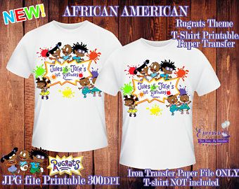 African American Rugrats Etsy